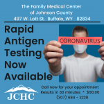 Rapid Testing Available
