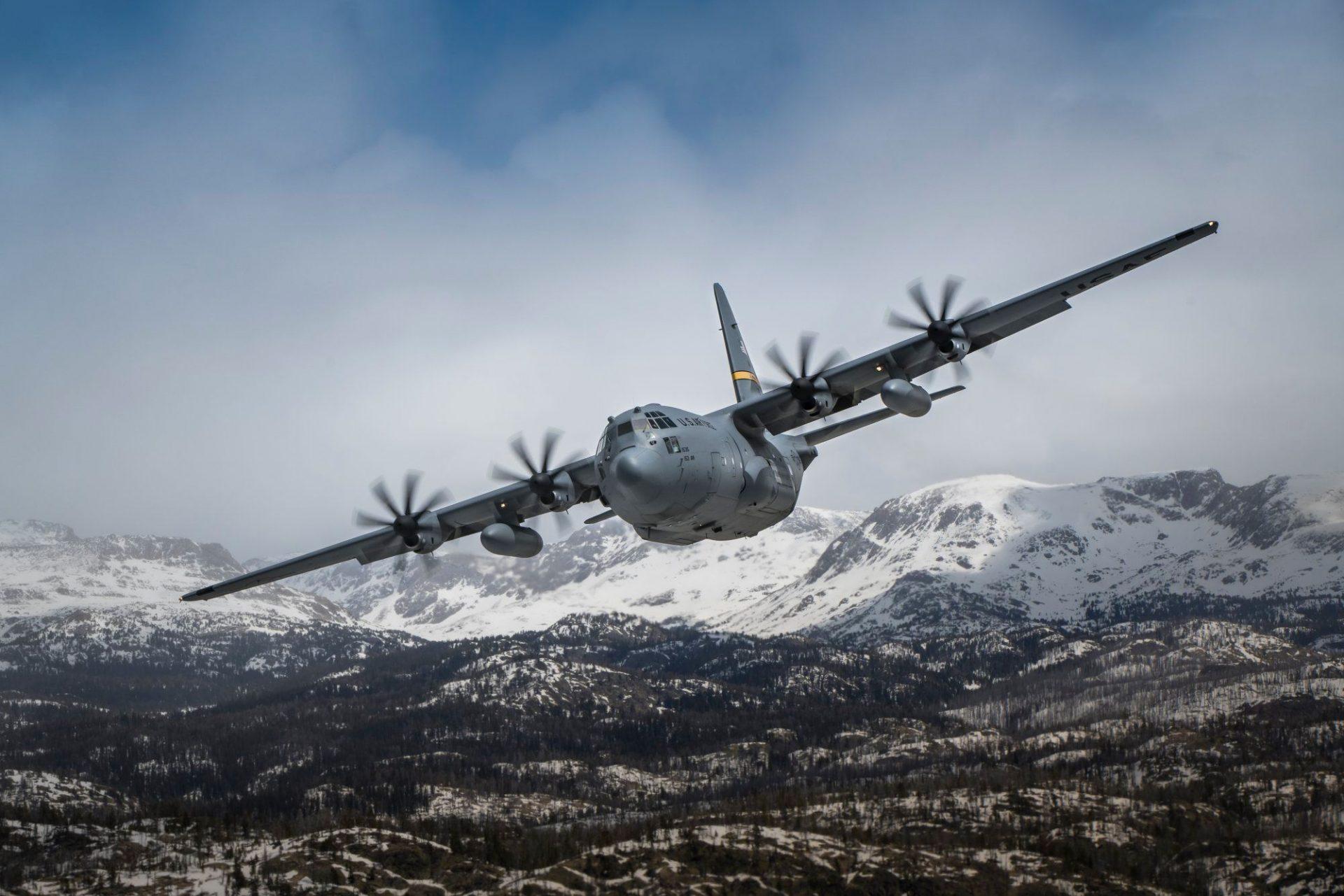 C130 flyover may 15 2020