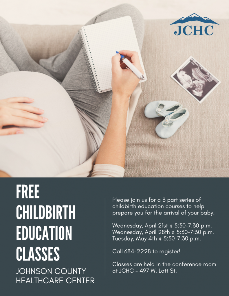 free childbirth education classes