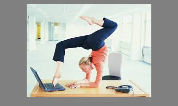 funny office stretch
