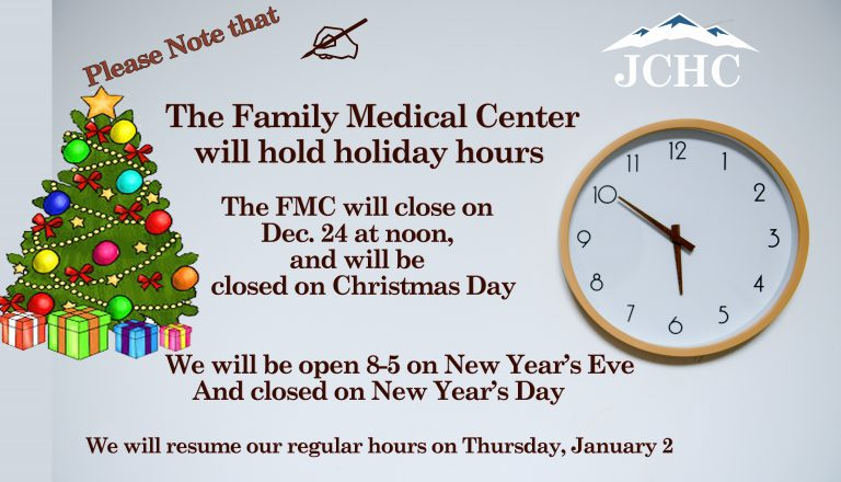 FMC holiday hours