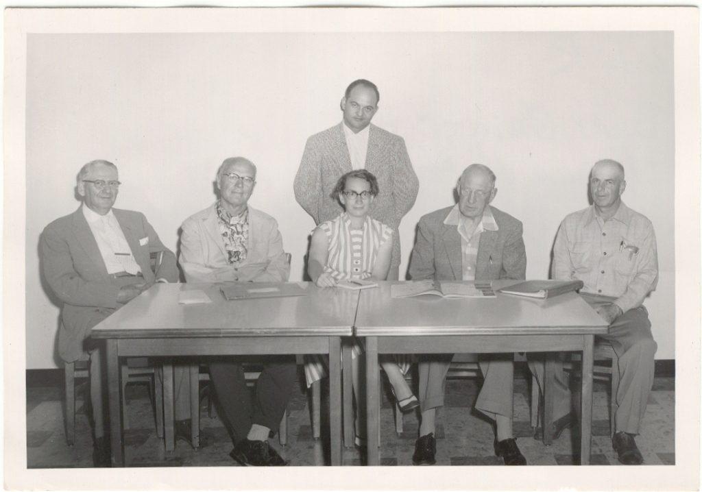Hospital board 1950s