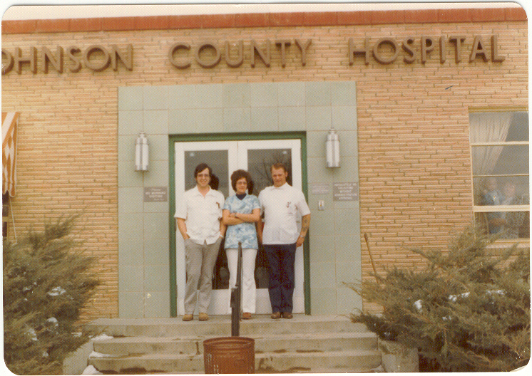 Front of Hospital 1970s